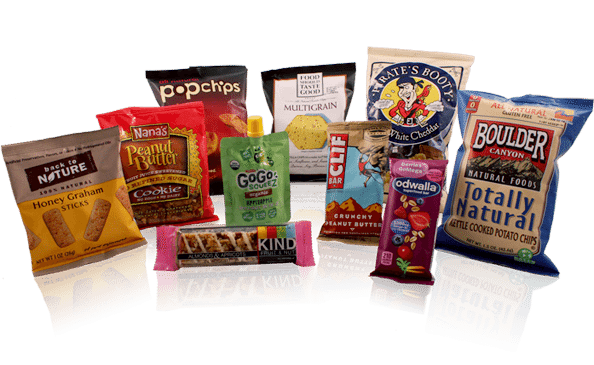 Toronto Vending Services - Vending Products - Healthy Snack Options